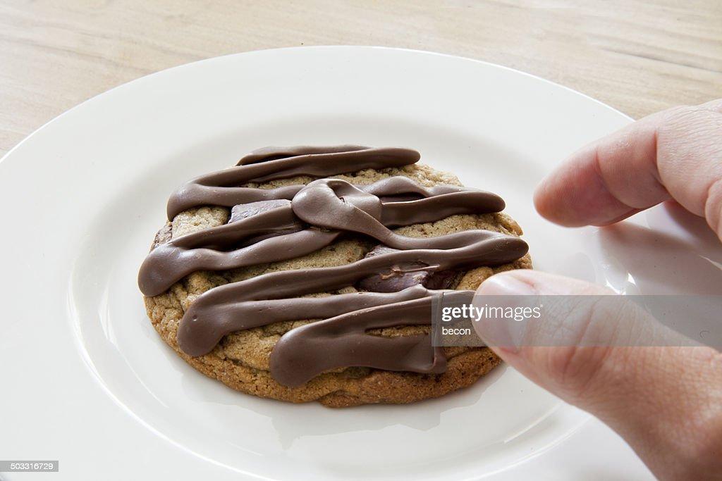 Chocolate Cookie : Stock Photo