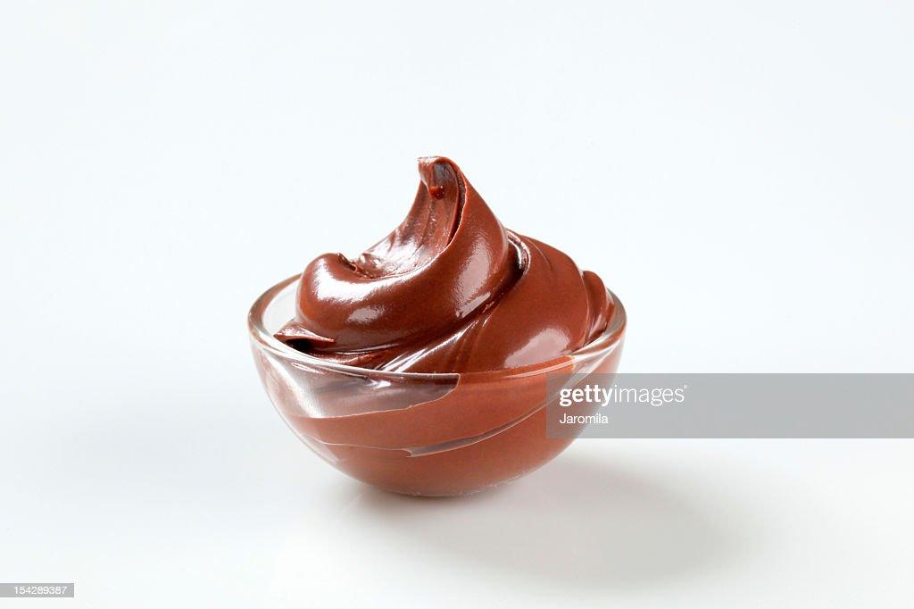 creme de chocolate : Foto de stock