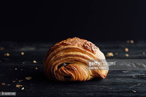Chocolate croissant freshly Baked pastry
