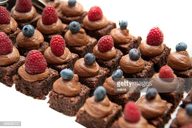 dessert au chocolat prise de vue en studio