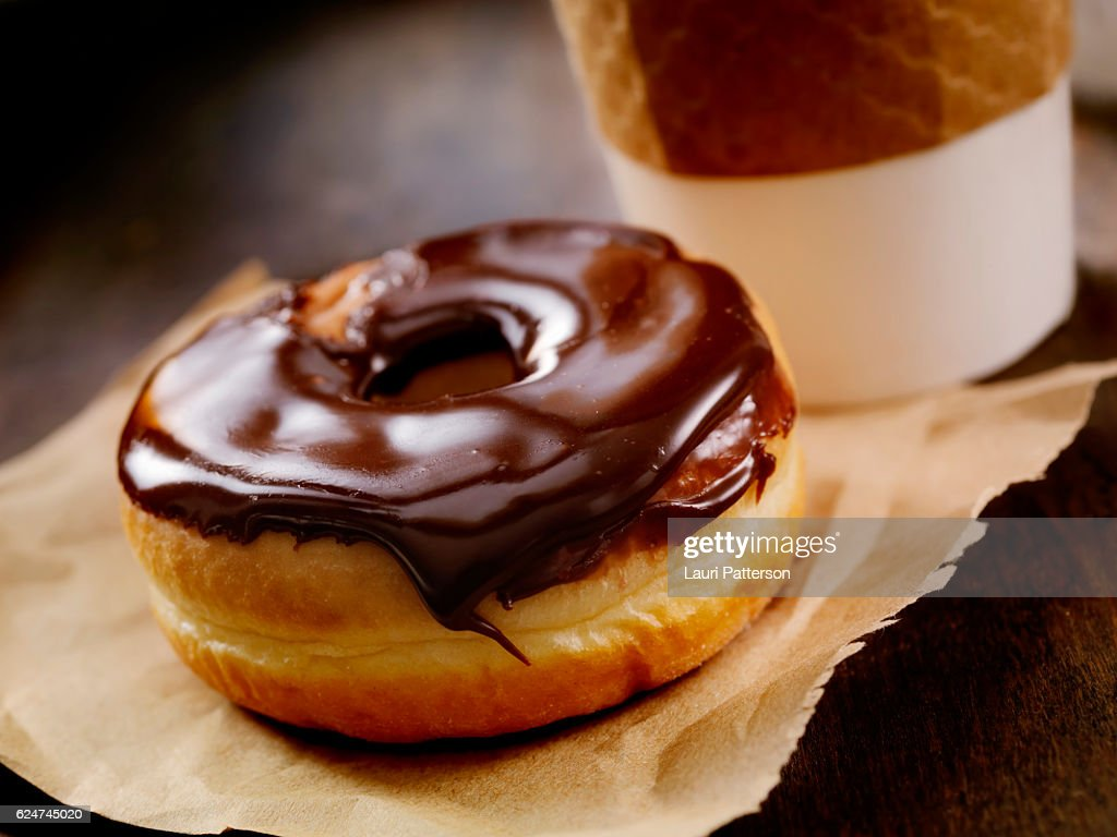 Chocolate Donut : Stock Photo