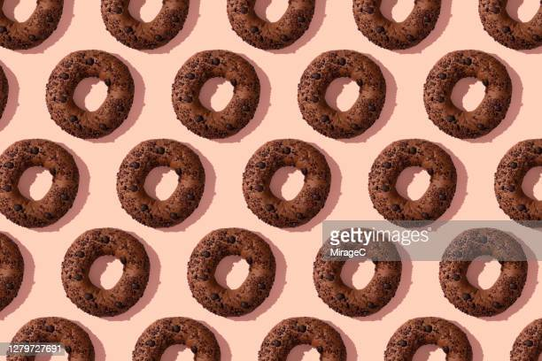 chocolate doughnut breads - abundance stock pictures, royalty-free photos & images