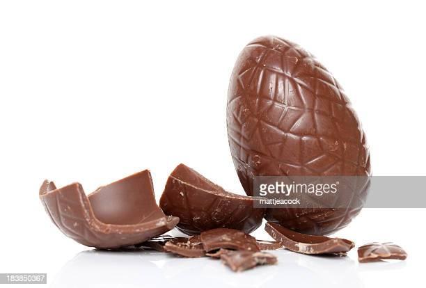 Chocolate huevo de pascua