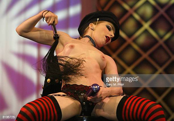 'Chocolate Fun Willies' are seen for sale at the 'Erotica Manchester 2004' the world's largest erotic festival at the GMEX Centre on March 26 2004 in...