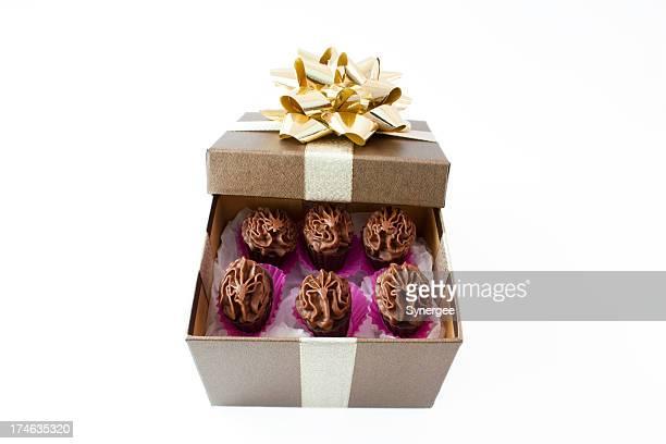 Boîte cadeau chocolat