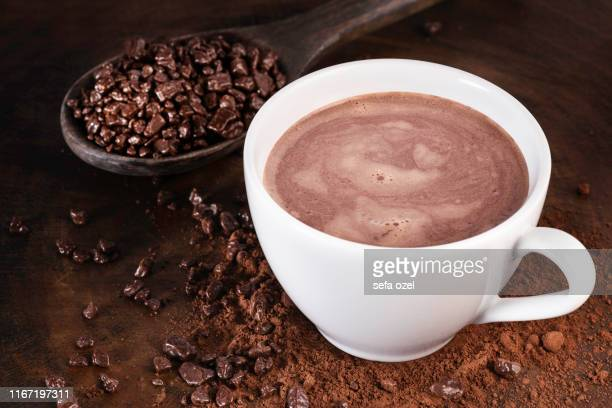 chocolate hot drink - hot chocolate stock pictures, royalty-free photos & images