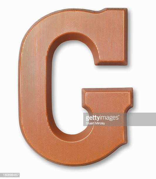 Chocolate letter g