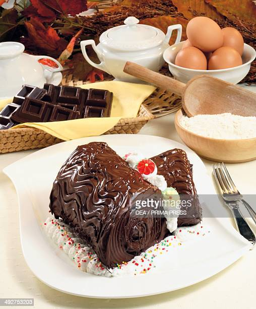 Chocolate log