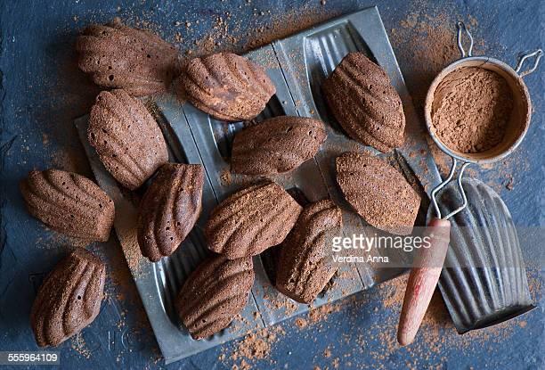 Chocolate madeleines