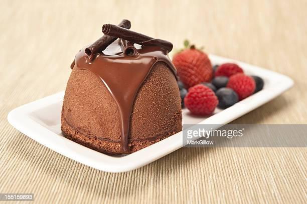 Chocolate Mousse Bomb
