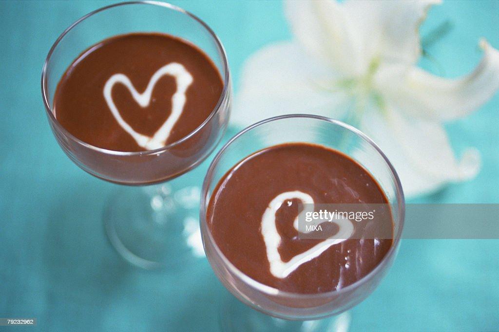 Chocolate Mousse : Stock Photo