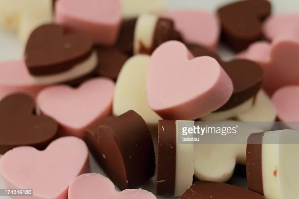 Chocolate of heart