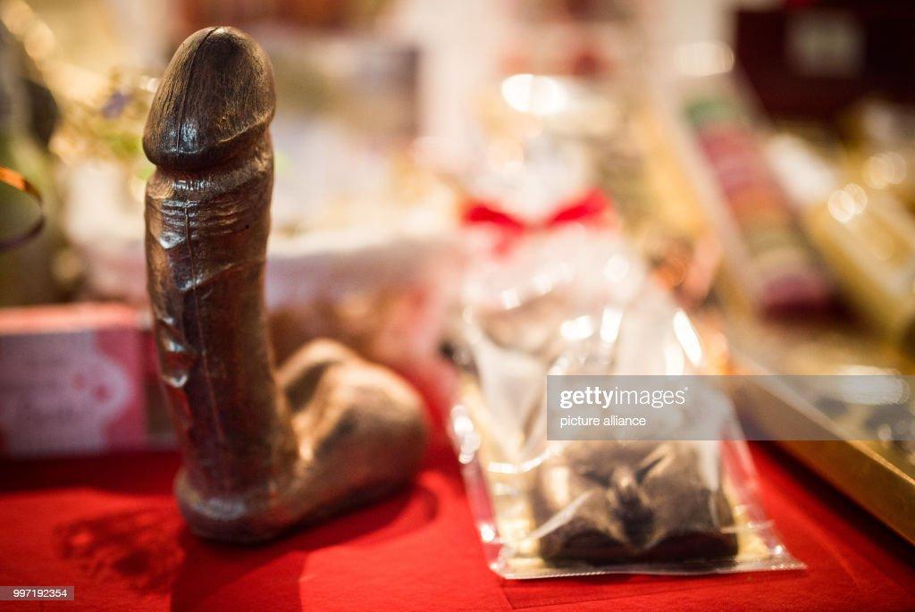 21st erotic fair Venus in Berlin : News Photo