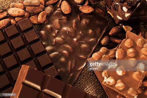 chocolate - barra de chocolate imagens e fotografias de stock