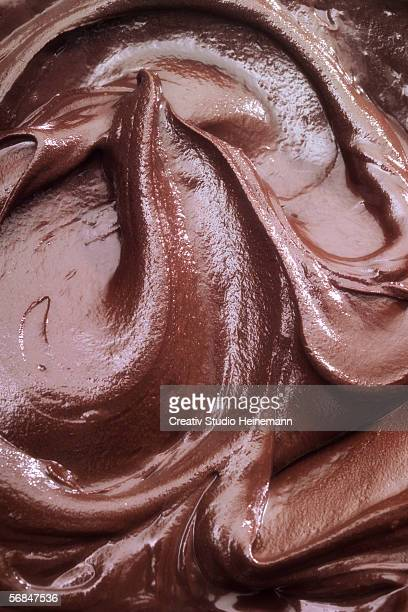 Chocolate sauce, full frame