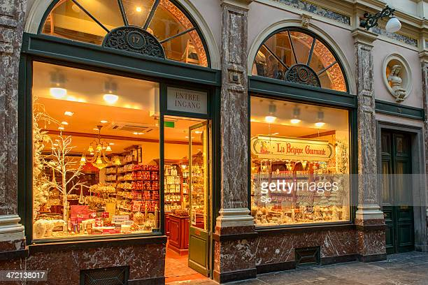 Chocolate shop in Brussels