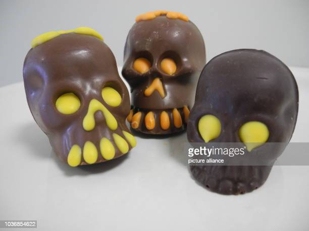 Chocolate skulls are traditionally eaten on the Day of the Dead 'Día de Muertos' in Mexico The 'Día de Muertos' is one of the most important holidays...