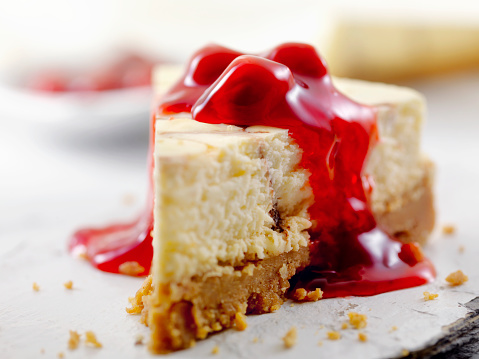 Chocolate Swirl Cheesecake with Cherry Topping 884055694