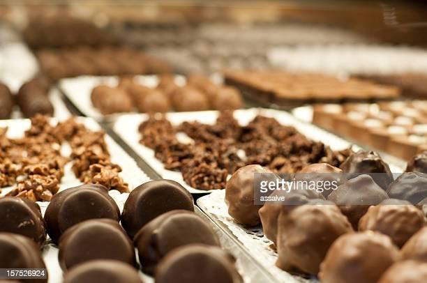 Schokolade Trüffel