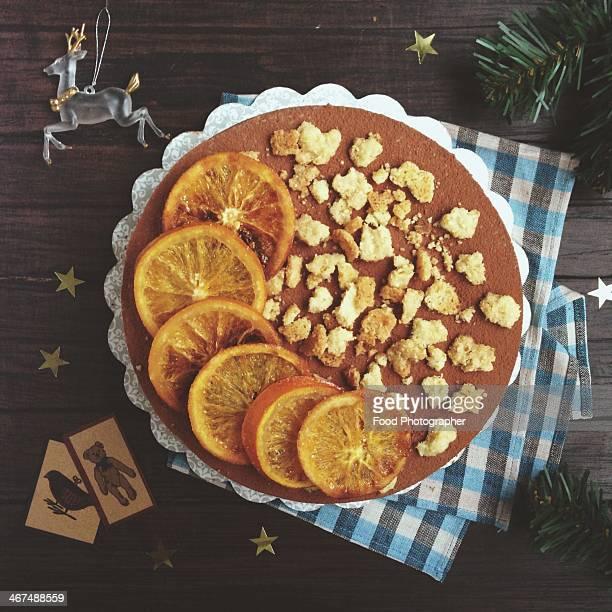 Chocolate & Vanilla Cake