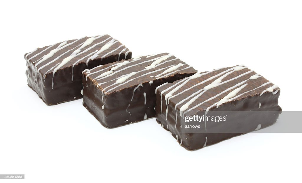 chocolate de bolachas (wafers) : Foto de stock
