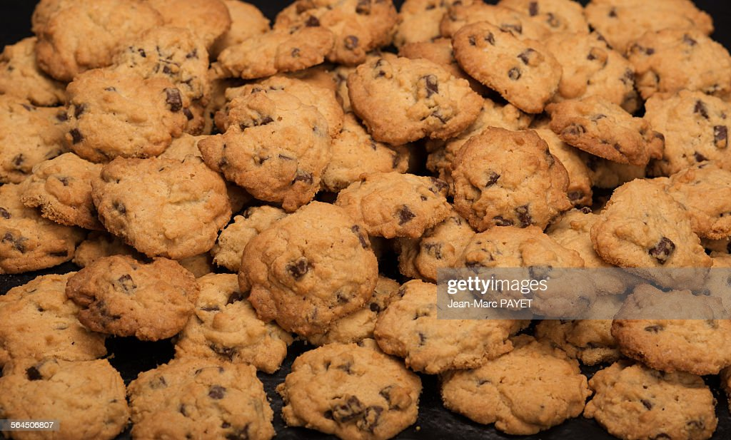 chocolate-chip biscuits : Photo