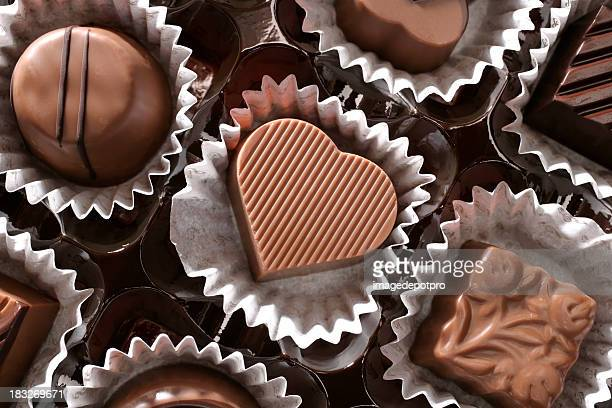 chocolates and love