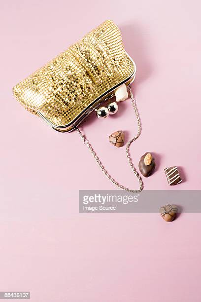 Chocolates in a handbag