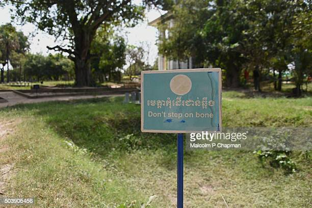 choeung ek, killing fields, phnom penh, cambodia - pol pot stock pictures, royalty-free photos & images