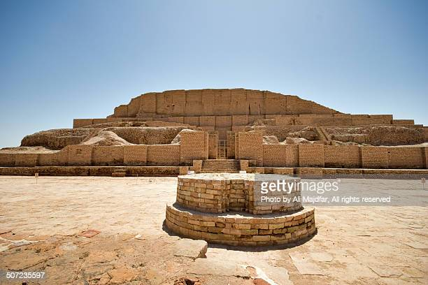 chogh zanbil - mesopotamian stock photos and pictures