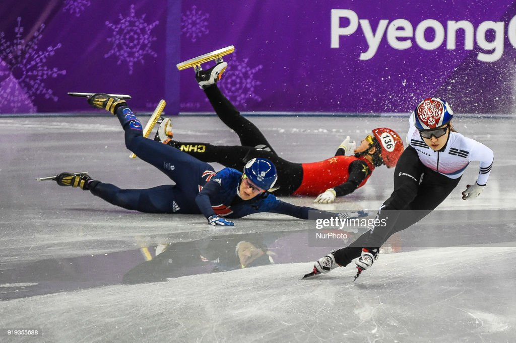 Short Track Speed Skating - Winter Olympics Day 8 : News Photo