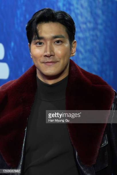 Choi Si-Won aka Siwon of South Korean boy band Super Junior attends the 29th Seoul Music Awards at Gocheok Sky Dome on January 30, 2020 in Seoul,...