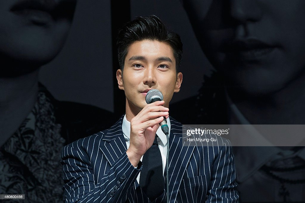 SM Entertainment - Super Junior 10th Anniversary Special Album 'Devil' Press Conference In Seoul : News Photo