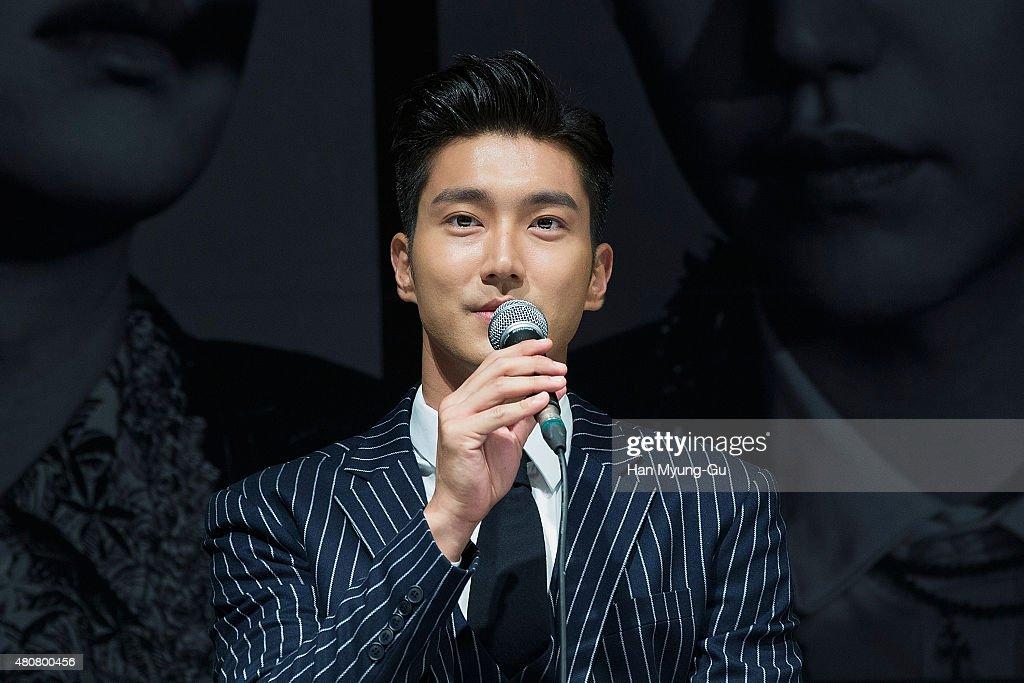 SM Entertainment - Super Junior 10th Anniversary Special Album 'Devil' Press Conference In Seoul