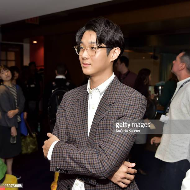 Choi Woo Shik stops by ATT ON LOCATION during Toronto International Film Festival 2019 at Hotel Le Germain on September 06 2019 in Toronto Canada