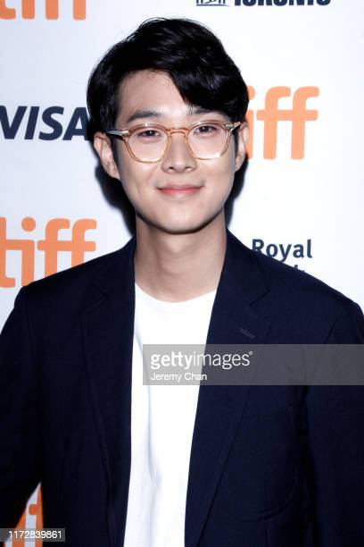 """Choi Woo-shik attends the """"Parasite"""" premiere during the 2019 Toronto International Film Festival at Ryerson Theatre on September 06, 2019 in..."""
