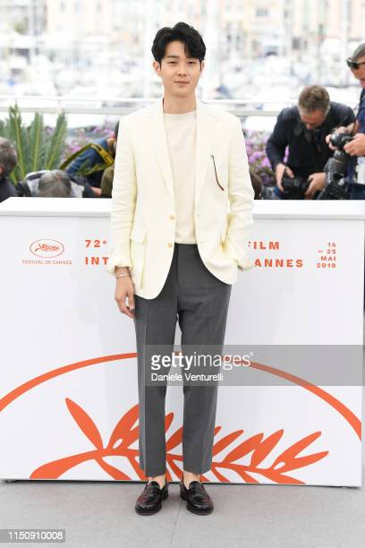 Choi WooShik attends the photocall for Parasite during the 72nd annual Cannes Film Festival on May 22 2019 in Cannes France