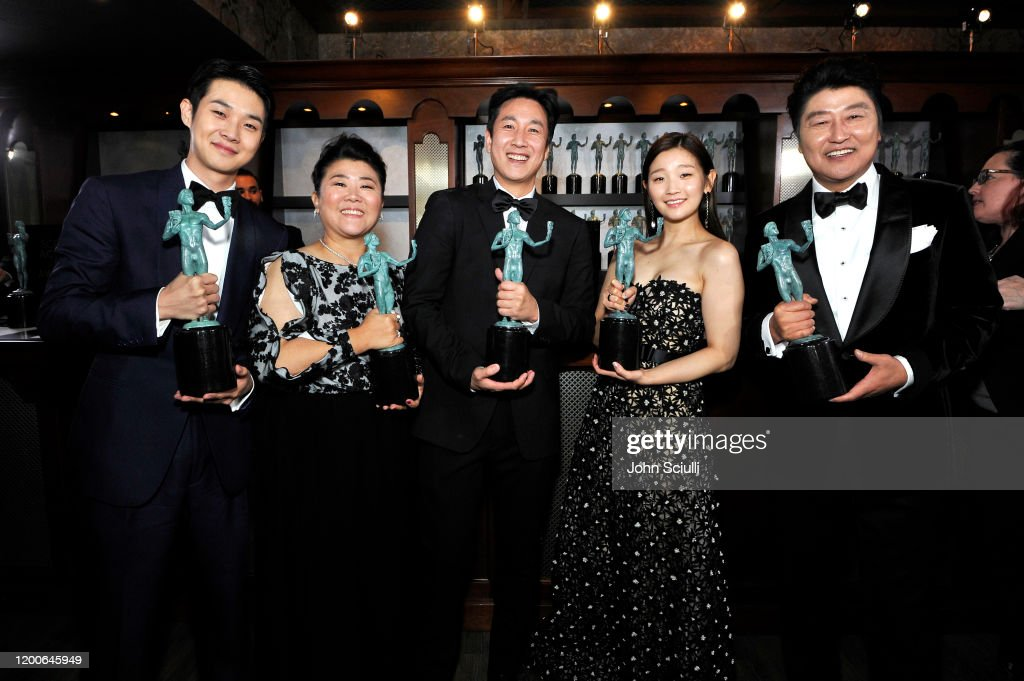 26th Annual Screen ActorsGuild Awards - Trophy Room : News Photo