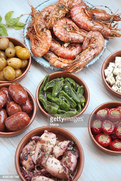 Choice of tasty Spanish tapas