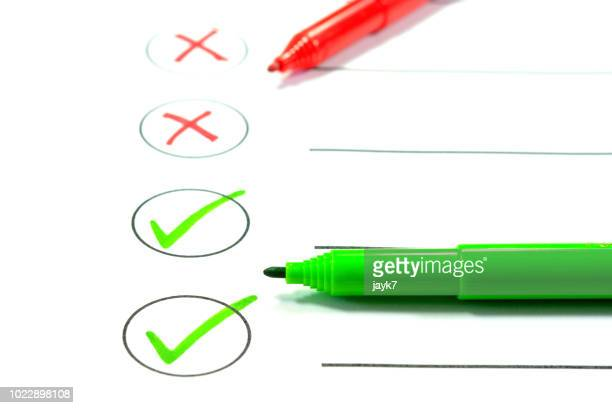 choice - check mark stock pictures, royalty-free photos & images