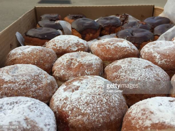 choice - sufganiyah stock pictures, royalty-free photos & images