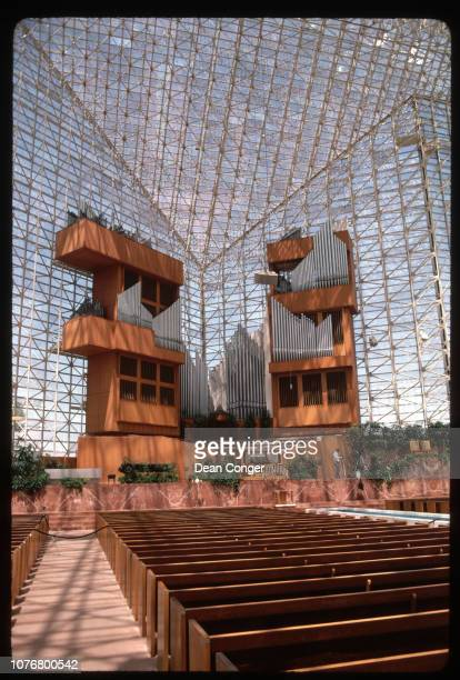 Choir Area and Organ in Crystal Cathedral
