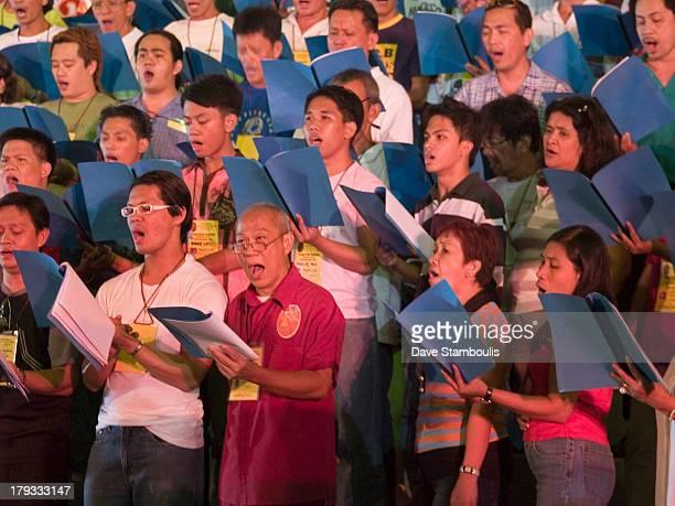 CONTENT] choir group Quiapo Church Manila Philippines