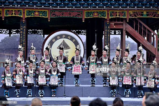 21 Dong Nationality Holds Song Competition In Rongjiang