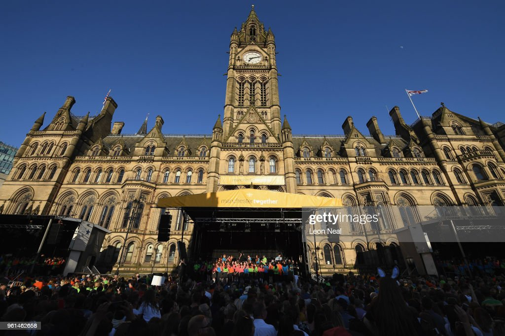 'Manchester Together - With One Voice' Arena Bombing Tribute Concert