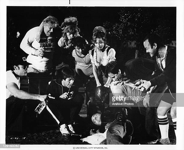 Choir practice policemen on a drunken orgy in a public park with Don Stroud Charles Durning Claire Brennan Stephen Macht Chuck Sacci Michele Carey...