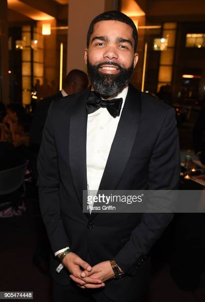 Chokwe Antar Lumumba attends 49th NAACP Image Awards After Party at Pasadena Civic Auditorium on January 15 2018 in Pasadena California