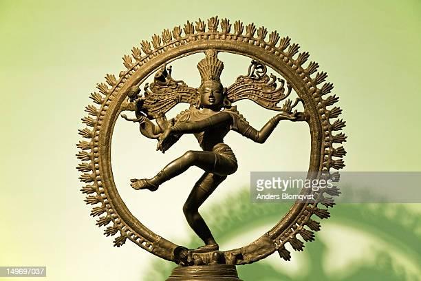 Chola bronze statue of Natraja, Lord Shiva, dancing the cosmic dance, National Museum.