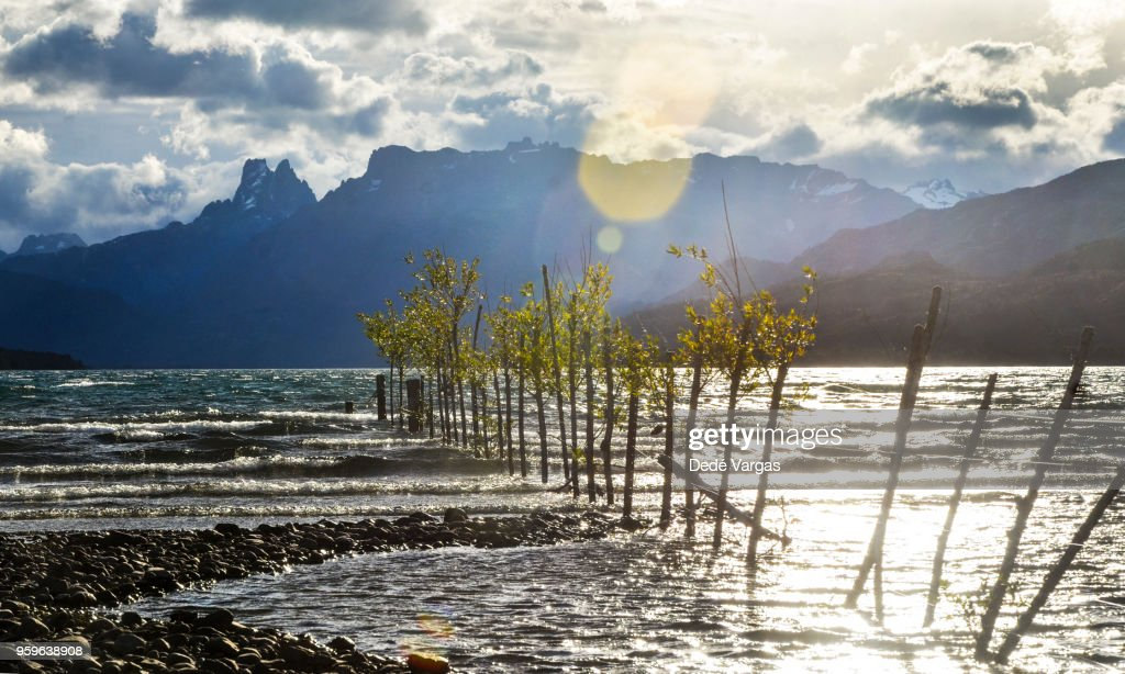 Cholila Lake, Argentine Patagonia : Stock Photo