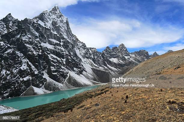 Cholotse Cho glacial Lake, (Chlo Tsho),